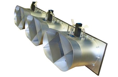 Medidor de flujo aire HBE